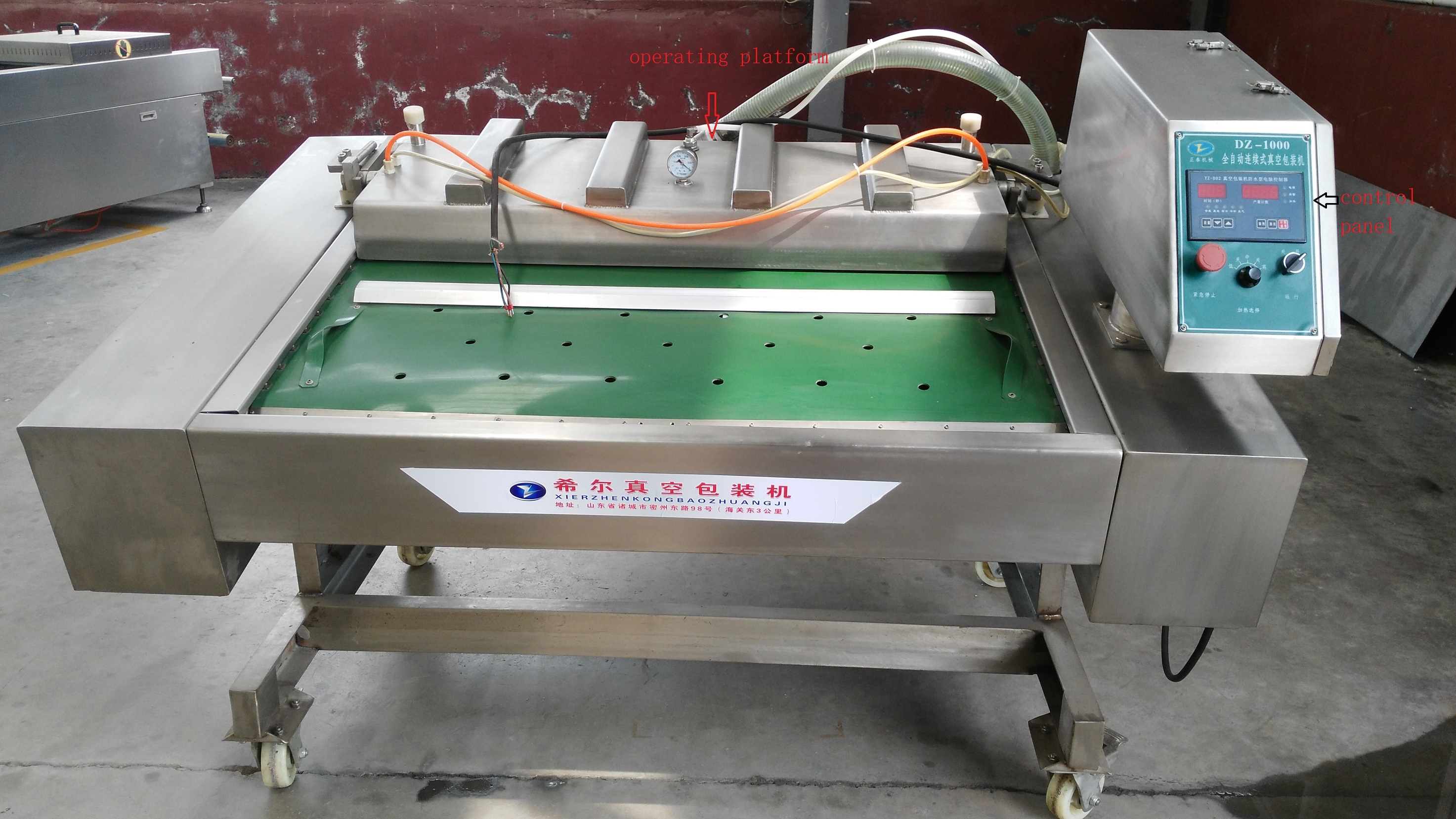 Wild Herbs And Dried Persimmon Vacuum Packing Machine