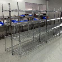Armazón de almacenamiento de metal pesado ajustable NSF Fabricante