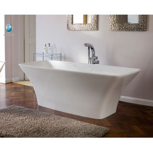 China manufacturer portable freestanding deep soaking designer drain overflow bathtubs