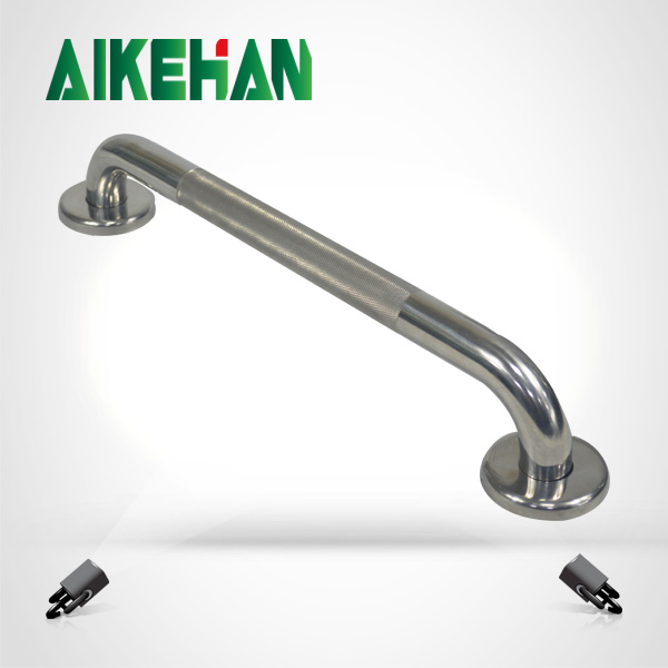 304 stainless steel safety knurled finished grab rail