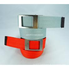 Simple Plain Canvas Belt with Nickle-Free Belt (EUBL0699-38)