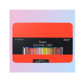 Andstal Square 48 Color red box Watercolor professional Colored Pencils Art Supplies for Artist Andstal