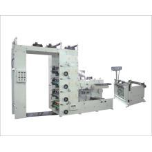 Vier Farben Flexodruck und Beschichtungsmaschine