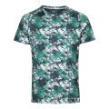 Mosaico de camiseta de ajuste seco que absorbe la humedad