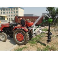 Cavador portátil del agujero de poste del tractor hidráulico del mejor precio