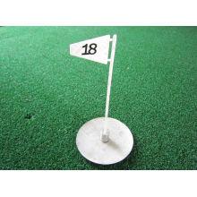 banderas de golf de plástico