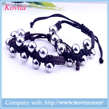 316 stainless steel beaded bracelet rope chain bracelet jewelry titanium steel bracelet men