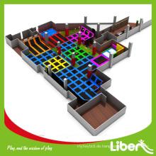 Beliebte Multifunktions-Sport-Trampolin-Park für Busniess Plan