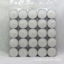 Candela di cera Tealight Malesia 50pcs in vendita