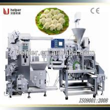 Dumplings haciendo la máquina