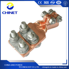 Sbj Tipo Prensa Plate Copper Hold Pole Clamps