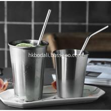 Food Grade Stainless Steel Straw Straight Bent Straws
