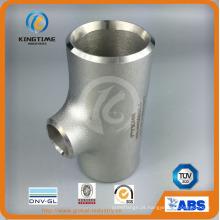 Aço inoxidável encaixes de tubulação de aço inoxidável Reduzir Tee com Ce (KT0325)