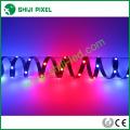 Color chasing 12vdc RGB pixel led addressable strip light 300leds