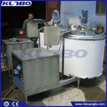 Réservoir de refroidissement horizontal de lait directement
