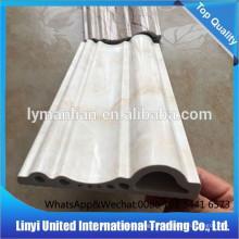 Rodapé de mármore em PVC