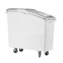 Pet Food Storage Container with Roller