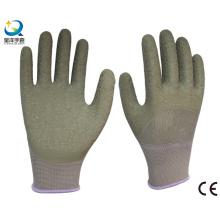 13G Полиэфирная латексная латексная перчатка с покрытием 3/4