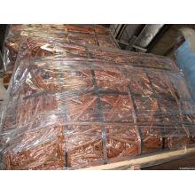 Chatarra de alambre de cobre de la venta caliente de la fábrica