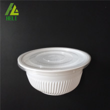PP disposable plastic food bowl with lid