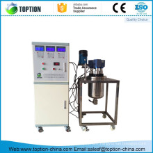Le CE a approuvé le réacteur ultrasonique d'acier inoxydable de mélangeur de 10L pour le laboratoire