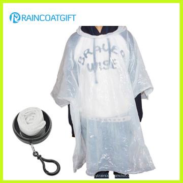Porte-clés Ball Poncho de pluie pour la promotion
