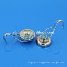 Hot Sale Neodymium Strong magnet swivel hooks