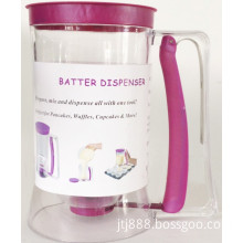 Cupcake Batter Dispenser, Cake Batter Dispenser with Handle, Gourmet Batter Dispenser Makes (TV116)