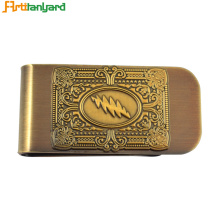 ODM for Custom Money Clips Metal Wallet Clip With Customized Logo export to France Exporter