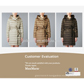 Veste en dentelle Fashion winter coat factory design 2017
