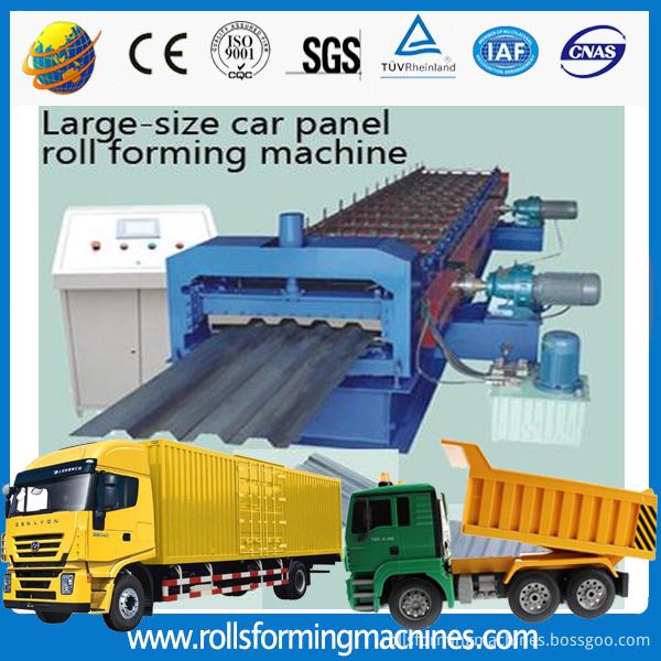 car panel lorry panel making machine