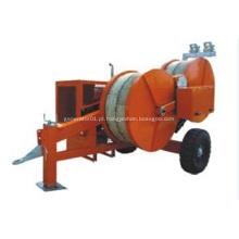 Máquina puxadora de cabo hidráulico