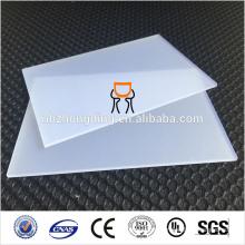 Feuille diffusée en feuille de polycarbonate PC pour les panneaux extérieurs