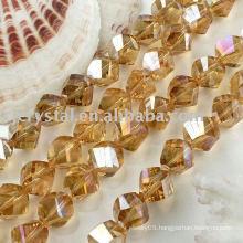 yiwu crystal twist beads
