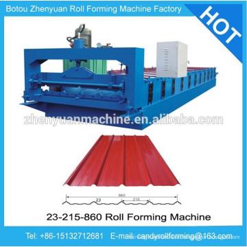 Farbbeschichtete Stahlblechmaschine, Kaltwalzformmaschine, vorlackierte Stahldachbleche Rollenformermaschine