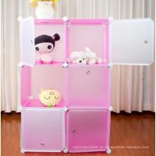 Prateleira do armazenamento do brinquedo, armário de armazenamento de 3 camadas (FH-AL0023-6P)
