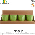 2016 Promotional Eco-Friendly Plastic Bamboo Fiber Cup (HDP-2013)