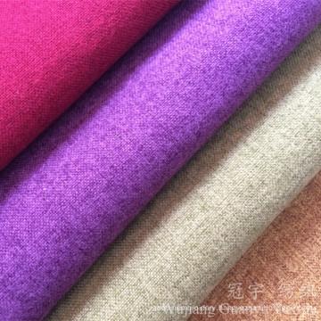 Linen Look Home Textile Sheep Fleece Fabric for Decoration