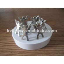 2012 neueste populäre Geschenk magnetische Personclip-Skulpturbürogeschenk