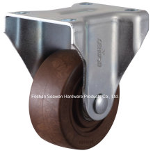 High Temperature 280 Degree Rigid Caster (Brown)