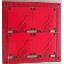 Factory source manufacturing for LED Circuit Board PCB 2 layer red solder ENIG PCB export to France Supplier