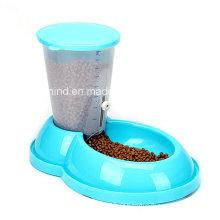Alimentador automático para animais de estimação, tigela para cães