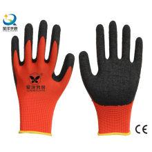 13G Polyester Shell Latex Palm beschichtet Arbeitshandschuh