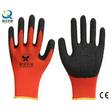 13G Polyester Shell Latex Palm Coated Work Glove