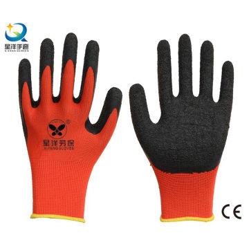 Рабочие перчатки с латексным покрытием