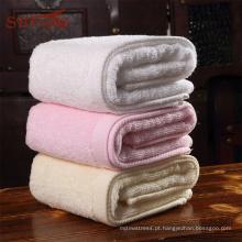 Casa colorida e yoga usado toalha de banho de algodão egípcio
