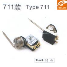 Капиллярный термостат из нержавеющей стали Type711