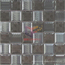 The Oracle Pattern Concave Stainless Steel Metal Mosaic (CFM905)