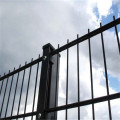 double wire welded fence panel