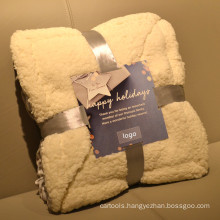 custom printed blanket sherpa throws gift sets